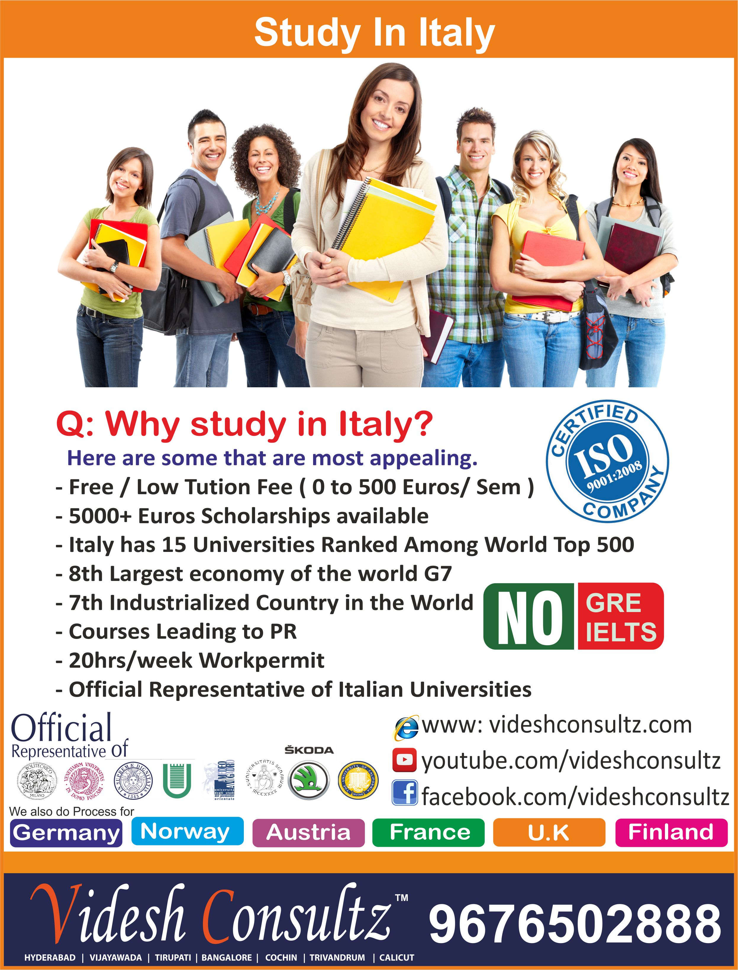 best universities in italy, top universities in italy